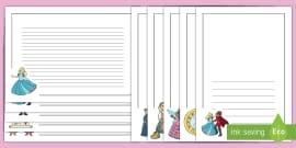 Cinderella Page Borders