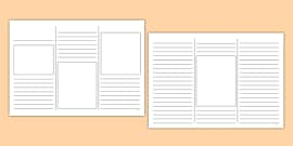 Newspaper Templates & Reports