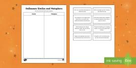 Literary Devices Crossword Literature Reading Grades 3 5
