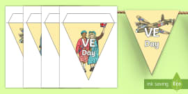 Blank Bunting Template bunting