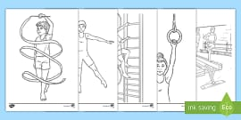 t tp 7169 gymnastics colouring pages ver 2