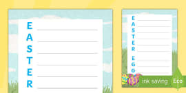 FREE! - Easter Story Writing Frames - BBC Teach - Year 1 ...