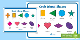 Cook island greetings display poster cook islands cook cook island shapes display poster m4hsunfo Gallery