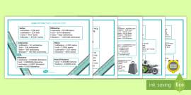 Calculating Hectares Worksheet - measurement, area, farming ...