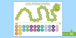 FREE! - Upper Case and Lower Case Matching Worksheet