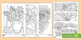 Kunstunterricht Arcimboldo Kopiervorlagen