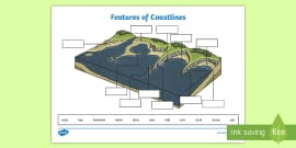 Geography: Our Changing World: Coastal Features Y6 Lesson Pack 2