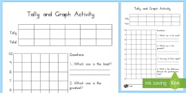 Favourite sport data collection activity sheet tally chart australia tally and graph activity sheet template pronofoot35fo Choice Image