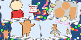 Playdough Mats to Support Teaching on Biscuit Bear