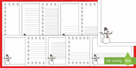 elf themed page borders page borders borders elf writing