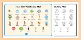 Fairy Tale Vocabulary Mat