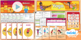 yoga moves to promote sleep and relaxation activity