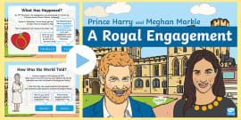 * NEW * KS1 Royal Engagement Information PowerPoint