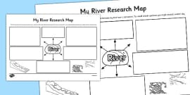 My River Research Map Template