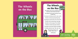 The Wheels on the Bus Nursery Rhyme IKEA Tolsby Frame