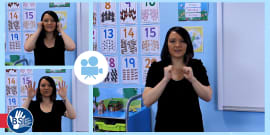 10 Winter Signs in British Sign Language (BSL) Video Clip
