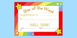 twinkl homework certificates