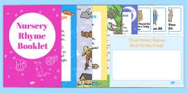 Nursery Rhymes Booklet and Choosing Cards Pack