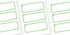 Apple Tree Themed Editable Drawer-Peg-Name Labels (Blank)
