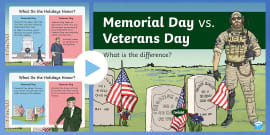 Memorial Day vs. Veterans Day: What's the Difference ...