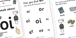 My Phase 3 Digraph Workbook (oi)