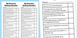 Student descriptive essays
