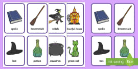 Matching Pairs Game to Support Teaching on Winnie the Witch
