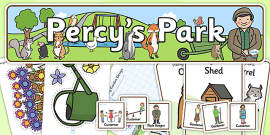 Role Play Pack to Support Teaching on Percy the Park Keeper