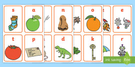 KS1 EYFS Phonics Flashcards Pack - Primary Resource