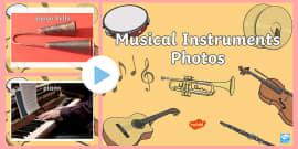 Musical Instruments Photo PowerPoint