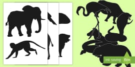 image about Printable Shadow Puppets named Shadow Puppet Templates-shadow puppet, templates, puppets