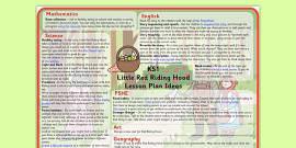 Little Red Riding Hood Lesson Plan Ideas KS1
