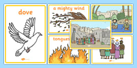 Pentecost Story Ks1 Easter Amp Pentecost Story Resources border=