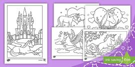 t par 65 unicorn colouring pages ver 1