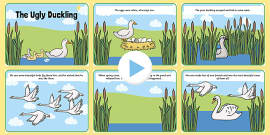 The Ugly Duckling Story PowerPoint