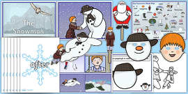 Story Sack Resource Pack to Support Teaching on The Snowman
