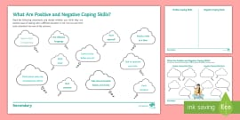 Stress and Coping Strategies for Young People Worksheet