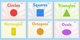 Editable Class Group Signs (2D Shapes)