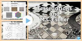 M.C. Escher And Tessellations   PowerPoint