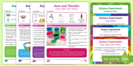 SC1 Science Investigation Planning Posters  |Experiment Conclusion Ks2