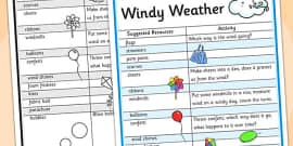 Windy Day Play Ideas