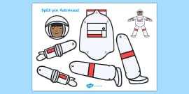 Split Pin Astronaut