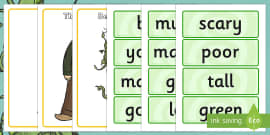 Jack And The Beanstalk Character Describing Words Matching Activity