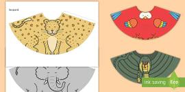 Paper Chain Snake Craft - crafts, design, animals, paper craft
