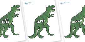 Tricky Words on T-Rex