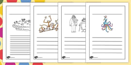 Writing Frames to Support Teaching on The Twits