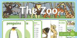 Zoo Role-Play Pack