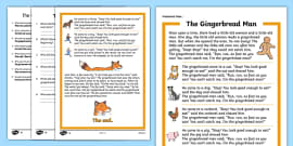 picture regarding The Gingerbread Man Story Printable titled The Gingerbread Gentleman Tale Sequencing (4 for each A4