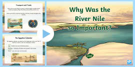 the importance of the nile river in creation of egypt The importance of the nile river posted on september 5, 2012 by chris one of the things that has fascinated me the most from our readings so far on ancient egypt has been the importance of the nile river in the development of egyptian society.