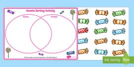 Shapes Carroll and Venn Diagram Worksheets - Twinkl